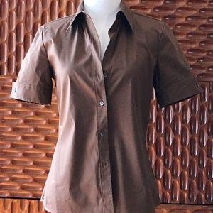 Short Sleeve Button Up top